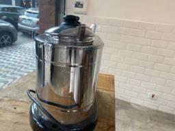 Derretedeira elétrica de chocolate com duas cubas 220V