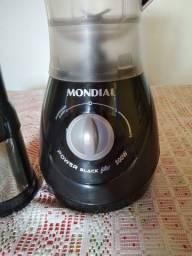 Liquidificador Mondial Power Black Filter 500W