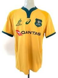 Camisa Camiseta Asics Rugby Austrália