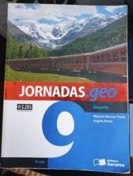 Livro didático de Geografia - JORNADAS.geo 9o ano Marcelo Moraes Paula e Angela Rama