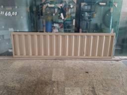 placa de proteção para porta de aço 2,15mx55cm, nova