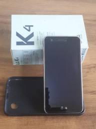 LG K4 Novo - 8GB dual Chip, com caixa e capa