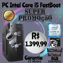 PC Core i5 + Mobo H61M-HDMI + SSD 256GB + 8GB Ram *Lacrado*