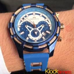 Relógio Original Relógio Megalith Klocktimes
