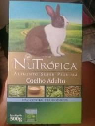Ração NuTrópica-alimento super premium (coelho adulto)