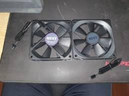 fan NZXT water cooler