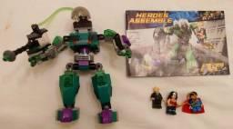 Robô Lex Luthor Heroes Assemble Lego compatível