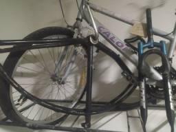 Quadro de bicicleta Beach e garfo mode