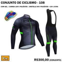 Conjunto de Ciclismo com Calça