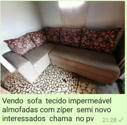 Sofa de canto  semi novo