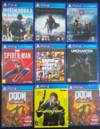 Jogos PS4 (valores na descrição)