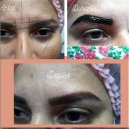Título do anúncio: Design de sobrancelhas, Unhas de Gel e Depiladora