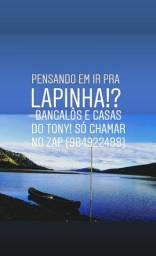 BANGALÔS E CASAS PARA FDS E TEMPORADA EM LAPINHA DA SERRA