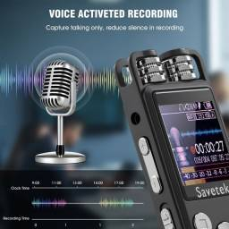 Gravador de Áudio Profissional Savetek GS-R07 Novo