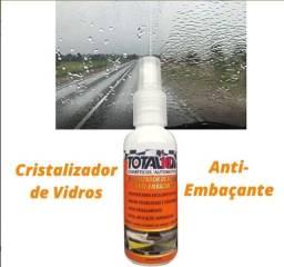 Cristalizador de Vidros e Anti-embaçante Carro / Viseira Total10 brasil