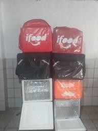 Mochila motoca com isopor 45 litros bag novas entregamos todo br