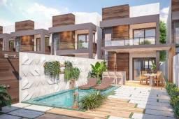 Casa duplex 3 suítes em rua privativa no Eusébio