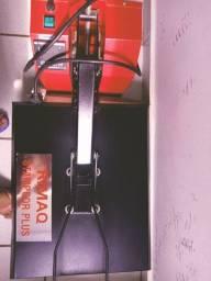 Máquina de estampar roupas nova