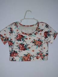 OPORTUNIDADE!!! Lindas blusas femininas Tam 8 a 10 anos