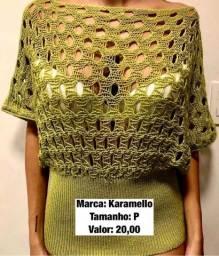 Camisa Crochet Verde