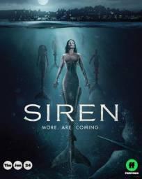 DVD 1°, 2° E 3° Temporada Serie Siren