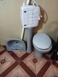 Vaso sanitário e pia