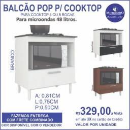 Balcão p/ Cooktop  para cooktop 4 ou 5 bocas