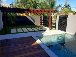 Casa para venda 270m² 4 suítes no Alphaville Litoral Norte 1 Camaçari BA