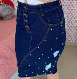 Saia jeans 44
