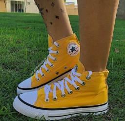 Allstar Cano Médio Amarelo