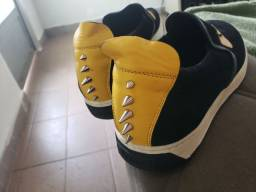 Fendi Roma slip on