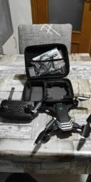 Drone itc Dual cameras grava e tira foto