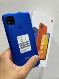 Redmi 9c de 64gb lacrado com garantia