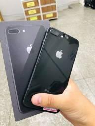 Título do anúncio: Boa tarde >> iPhone 8 Plus black pra hoje, aproveite