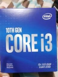 core i3 10100f, rx 550 2g, placa mãe b460M