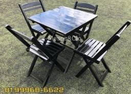 Mesa cadeira pronta entrega