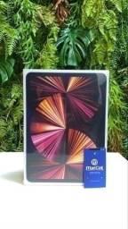iPad PRO 11 (2021) Space Gray 512GB WI-FI Processador M1 Novo/Lacrado