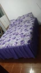 Colcha de cama casal pano estilo rústicos