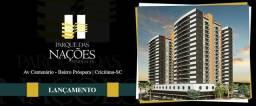 Apartamento 02Quartos 01 Suite -Parque das Nações Av : Centenário Bairro Próspera Criciúma
