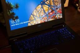 Dell G7 7588-A40P - I7 8750h 16GB Gtx 1060 6GB Mq + Mochila e Mouse