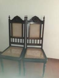 Cadeiras para mesa de sala almoço/jantar