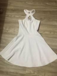 Vestido branco 38