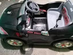 Carrinho elétrico Audi (Funcionado perfeitamente)