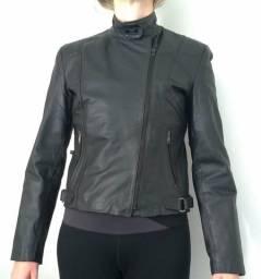 Jaqueta feminina couro legítimo