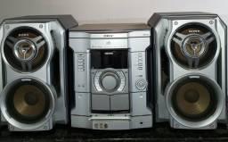 Mini System Sony Hybrid Dual Woofer