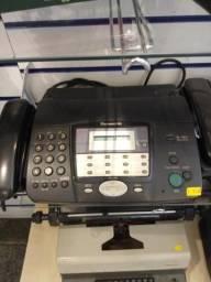 2 Aparelhos telefônico de fax funcionando
