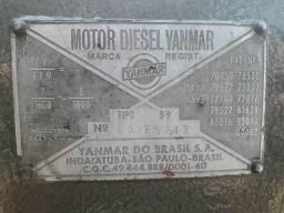 Motor yanmar com forrageira