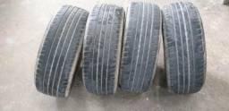Vendo 4 pneus goodyear original usado 205/260/16