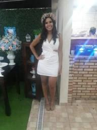 19d042baf Vestido branco para noivado ou pré wedding