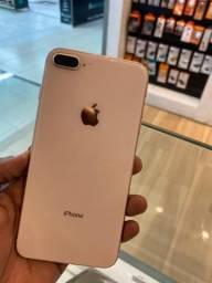 Iphone 8 plus Gold 64GB Seminovo - Garantia Loja Fisica !